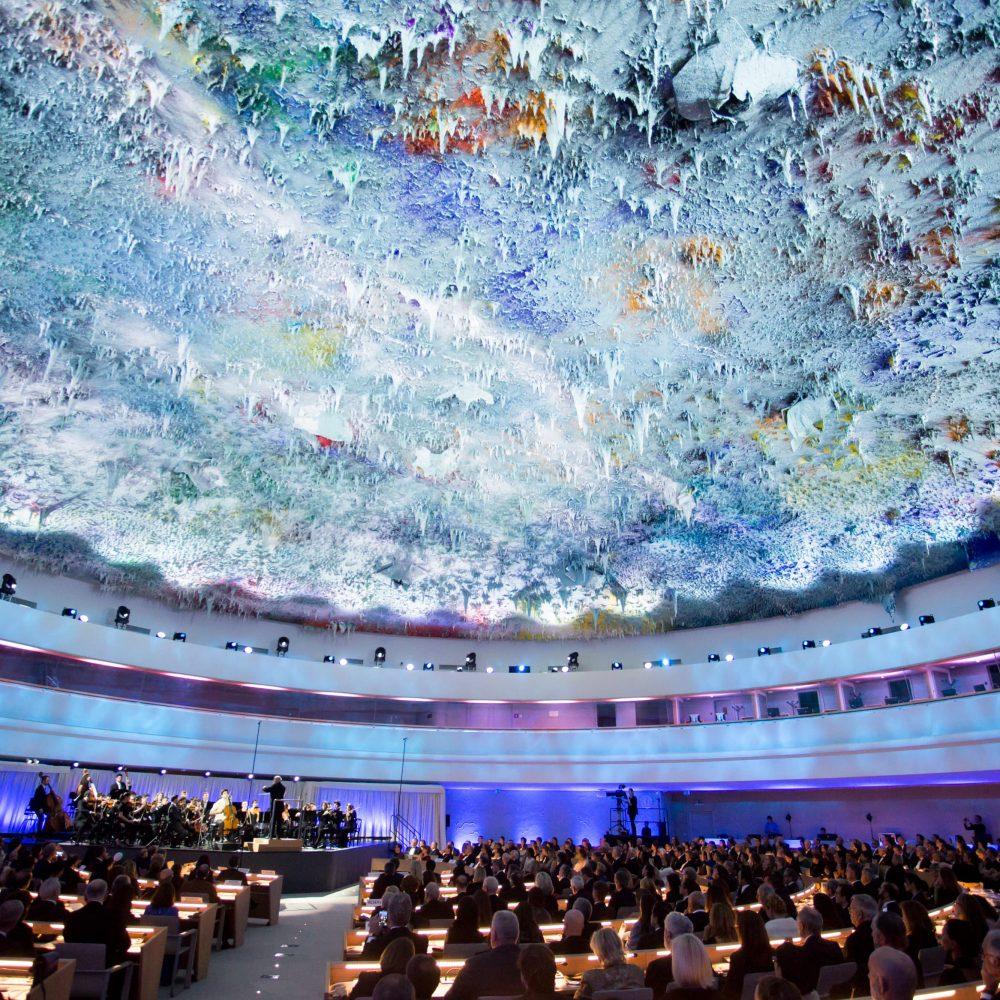 Emisión del Concierto de los Derechos Humanos